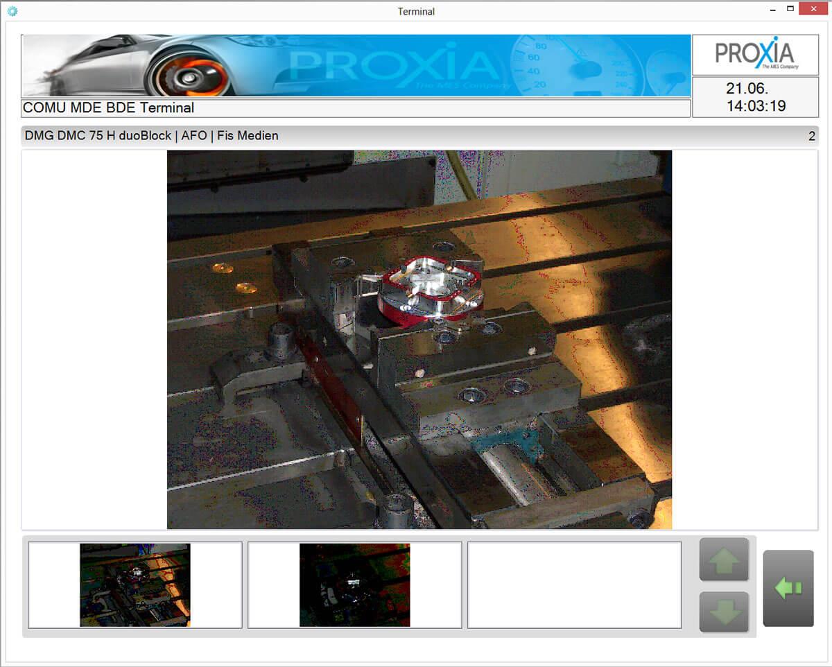 PROXIA DNC Software – zobrazení softwaru 4