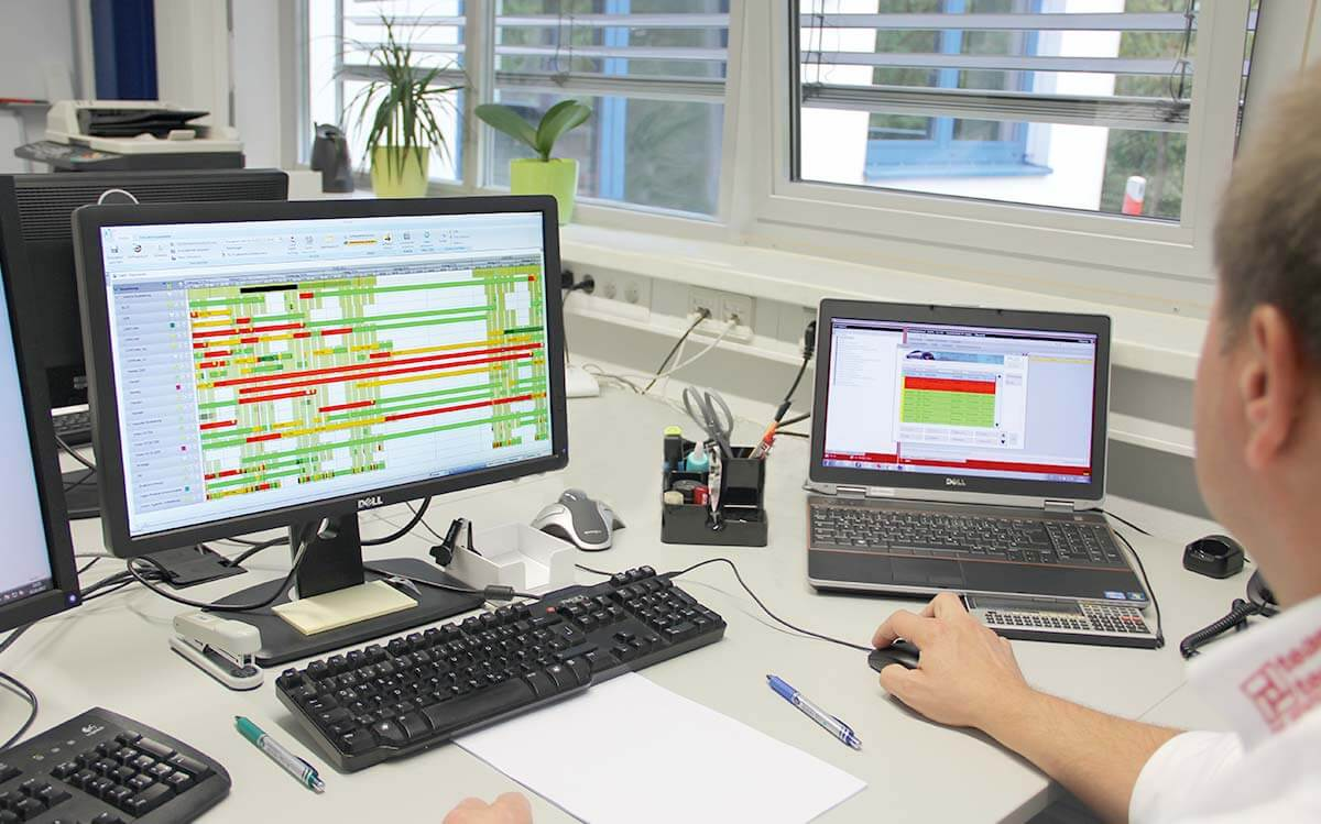 PROXIA Product Control room/Detailed planning example 2