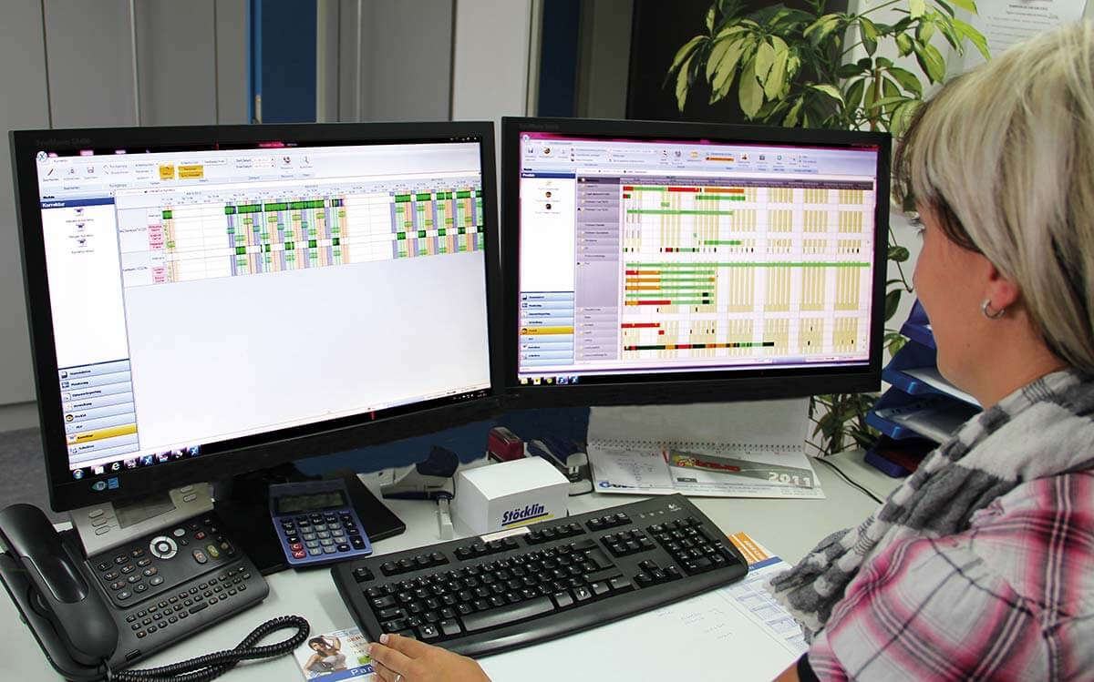PROXIA Product Control room/Detailed planning example 6