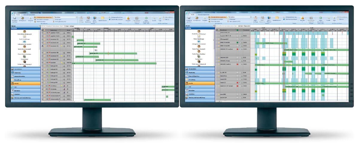 PROXIA Product Control room/Detailed planning example