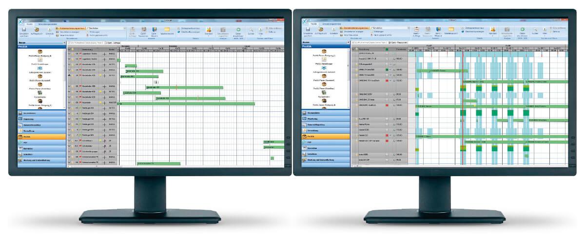 PROXIA Produkt Dispečink/detailní plánování příklad aplikace