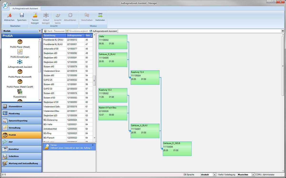 PROXIA Produkt Manager Software-Impression 5