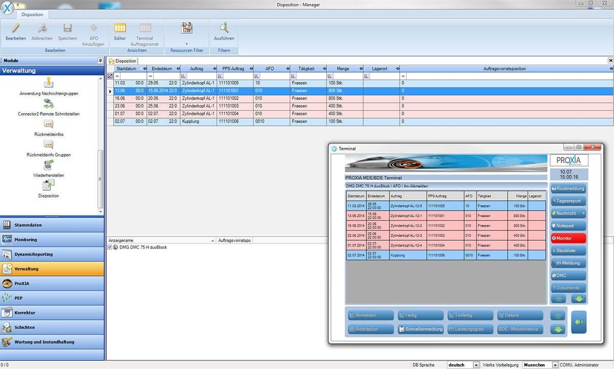 PROXIA Produkt Manager Software-Impression 6