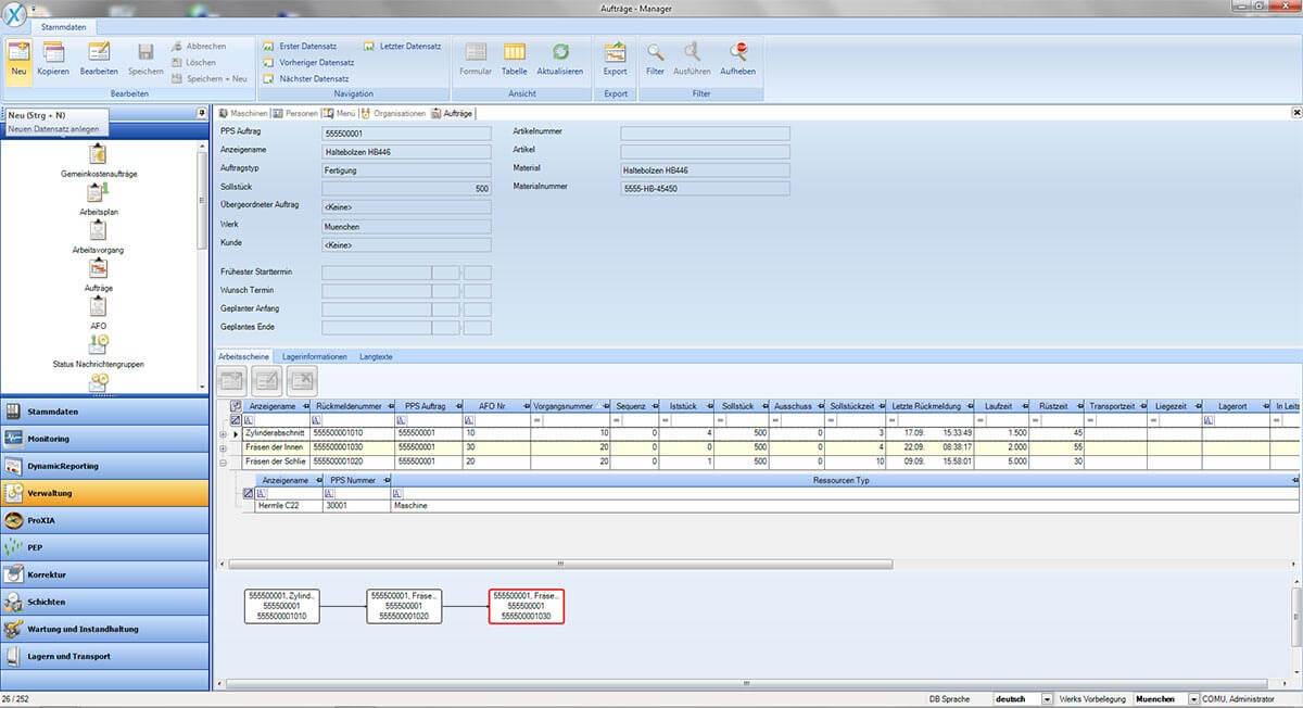 PROXIA Produkt Manager Software-Impression 9