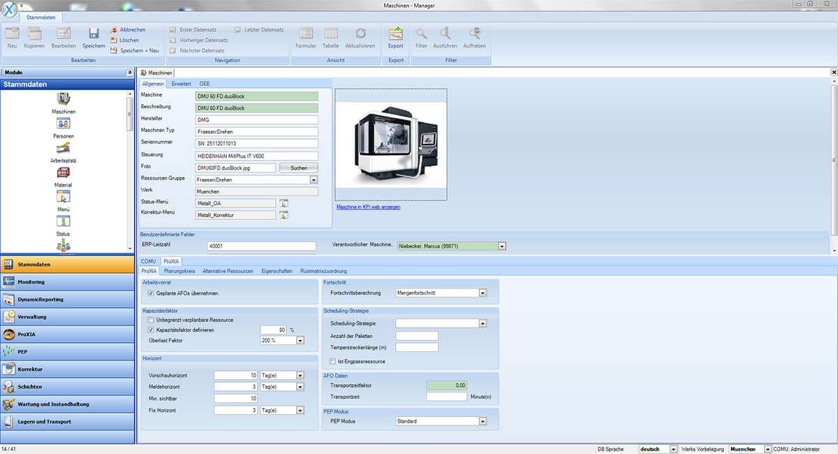 PROXIA Produkt Manager Software-Impression 10