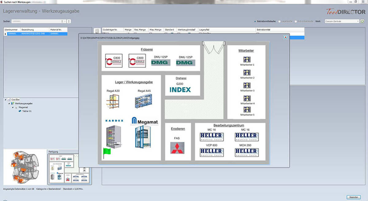 PROXIA Produkt Tool-Data-Management Software-Impression 6