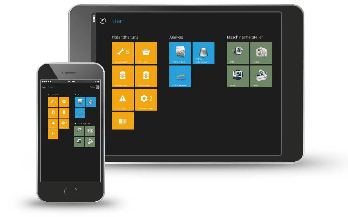 PROXIA Produkt TPM.web Anwendungsbeispiel 2