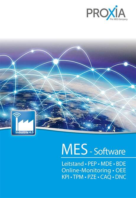 PROXIA Prospekt MES-Software