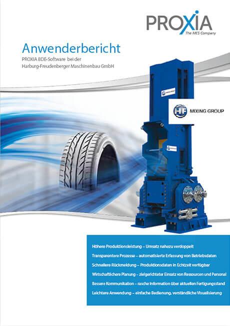 PROXIA Case study Harburg-Freudenberger Maschinenbau