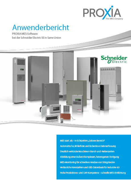 PROXIA Anwenderbericht Schneider Electric SE