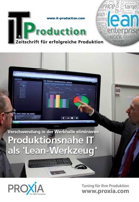 PROXIA Fachbericht Lean-Werkzeug
