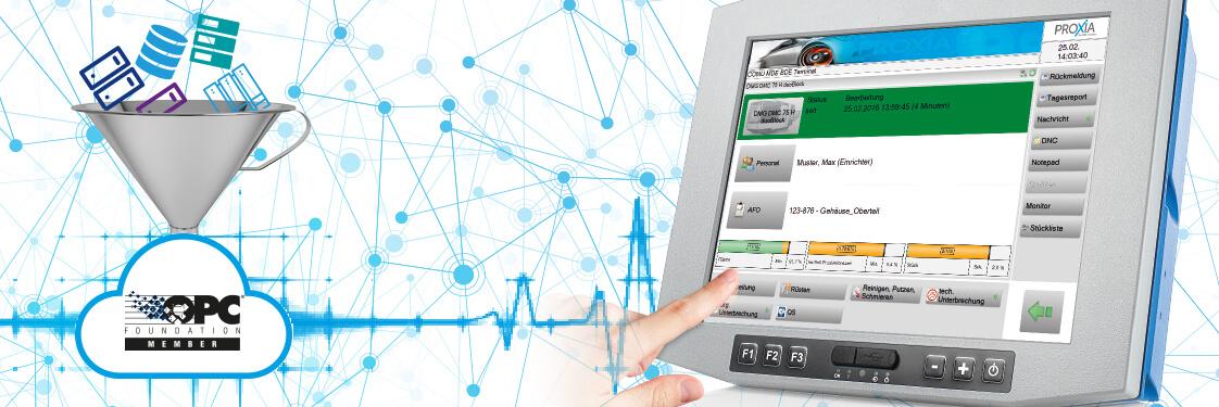 OPC-UA: PROXIA standardisiert den M2M-Datenaustausch