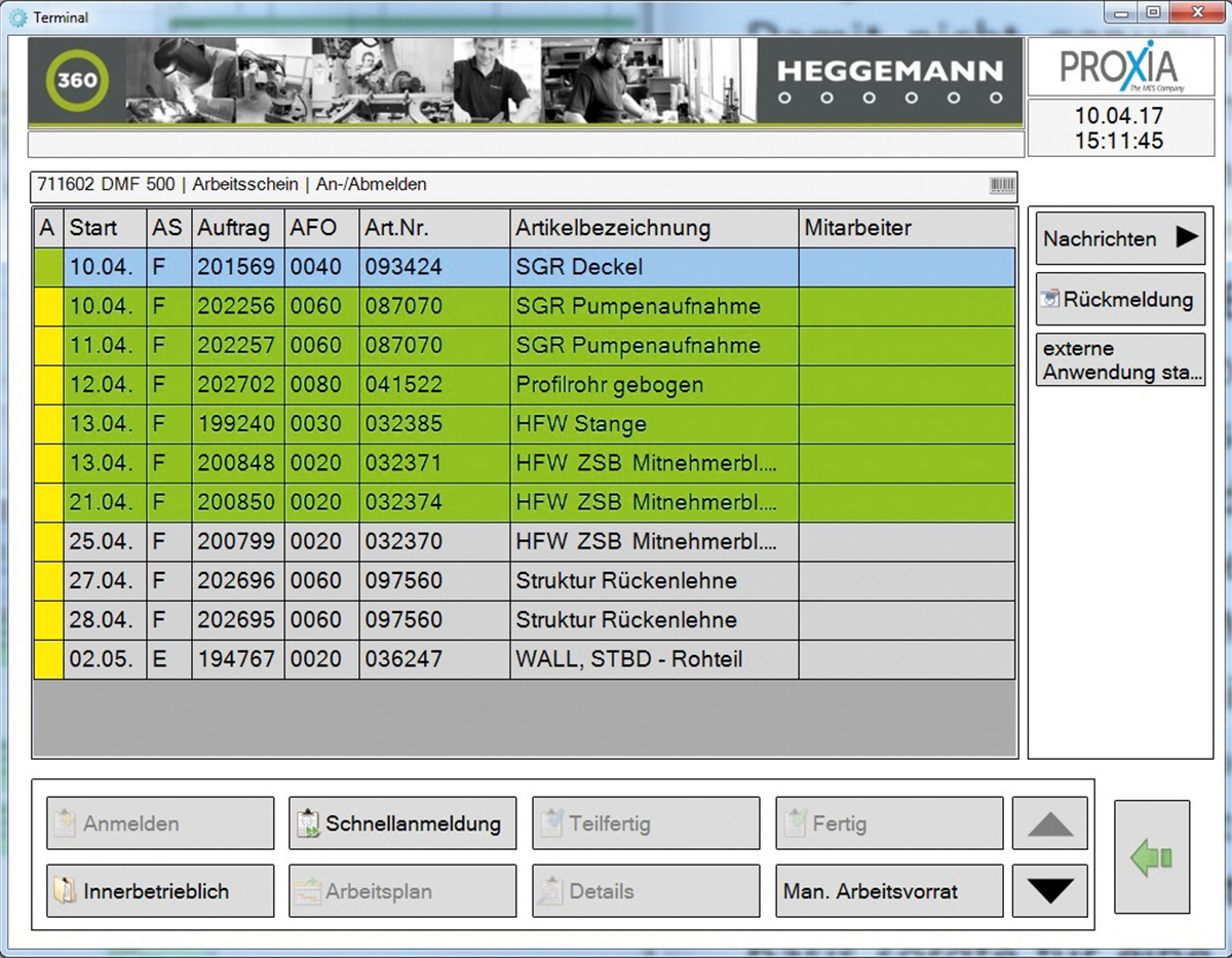 PROXIA Case study HEGGEMANN 14