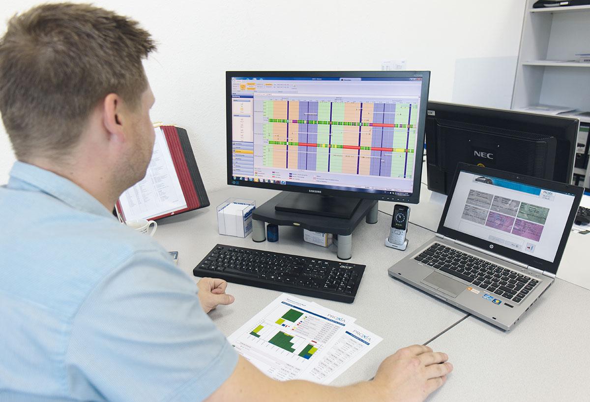 PROXIA Zpráva uživatele Tillmann Profil GmbH 11