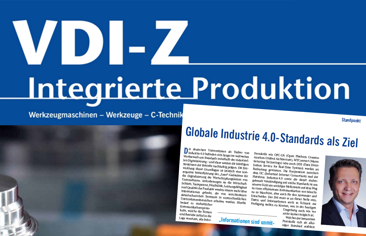 Globale Industrie 4.0-Standards <span class=